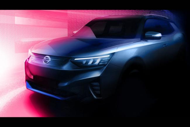 SsangYong Korando EV : le premier SUV électrique de la marque